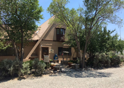 Taos Front Entry-Buillding